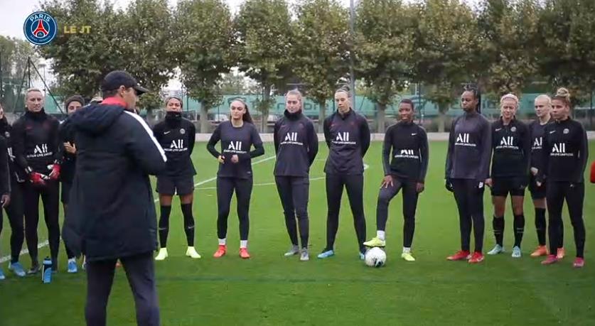 Les images du PSG ce jeudi : repos, visite à Paris, famille et féminines