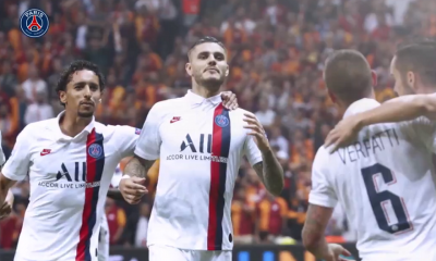 Les images du PSG ce mardi : encouragements de Neymar et premières célébrations de la victoire contre le Galatasaray