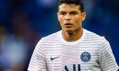 """L'agent de Thiago Silva assure que la discussion pour une prolongation de contrat se fera en """"janvier"""""""