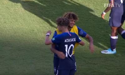 L'Equipe de France termine 3e du Mondial U17, Aouchiche Ballon d'Argent