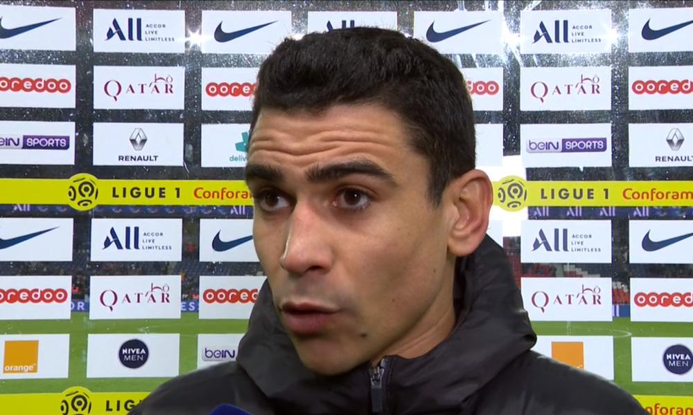 """PSG/Lille - André: """"Ils sont allés vite, ils nous ont fait mal au bon moment"""""""