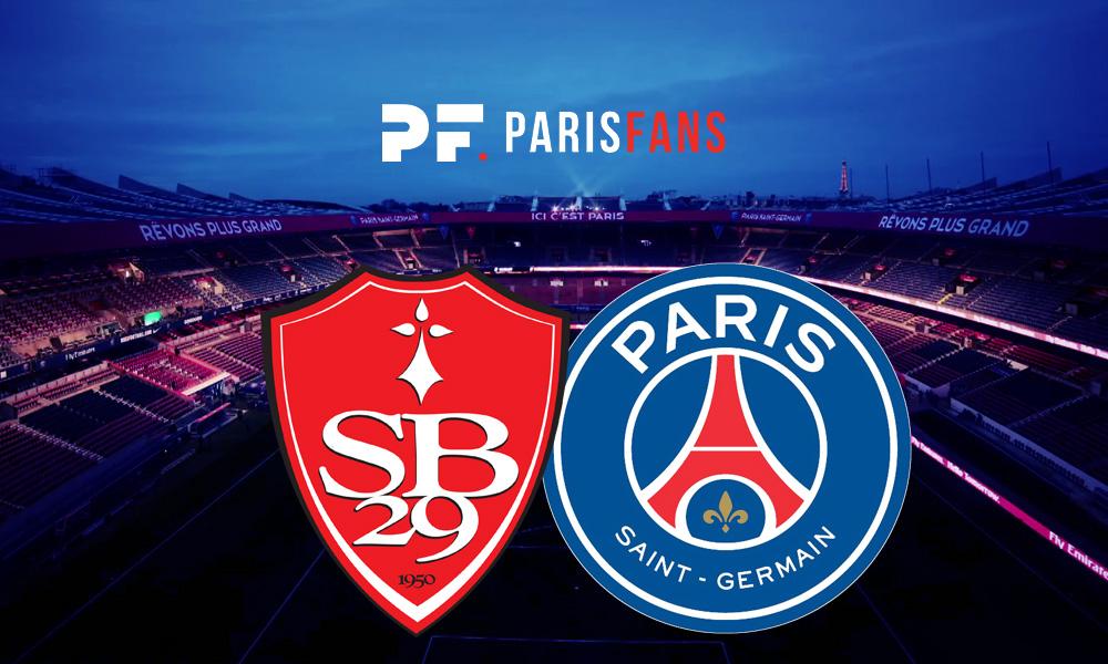 Brest/PSG - Le groupe parisien