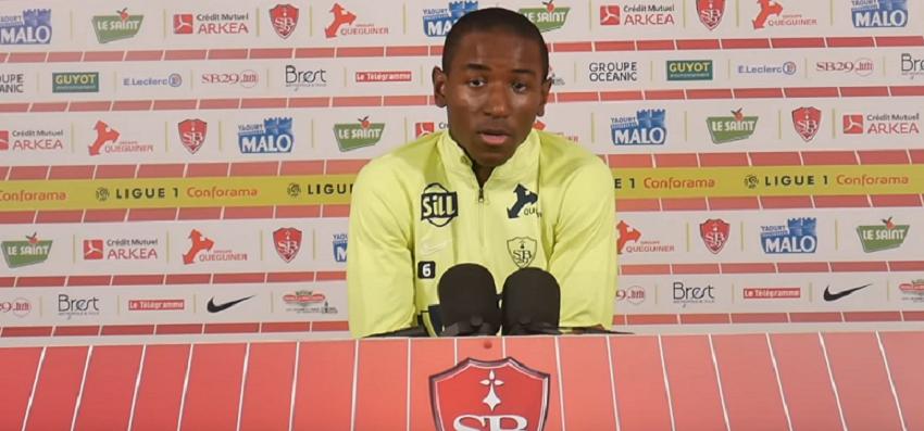 """Brest/PSG - Ibrahima DIallo """"c'est excitant de jouer contre son frère"""""""