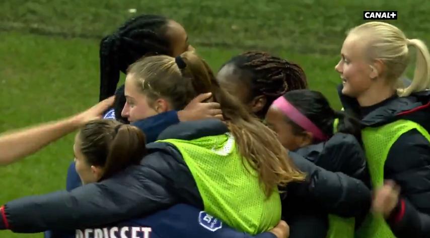 Féminines - Le PSG s'impose à Reims après avoir été mené à la pause