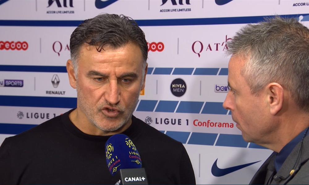 """PSG/Lille - Galtier: """"On a préparé notre match, Osimhen et Bamba nous ont manqué"""""""