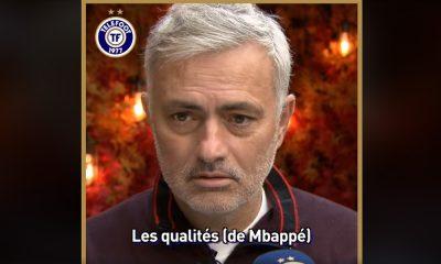 Mourinho totalement sous le charme de Kylian Mbappé