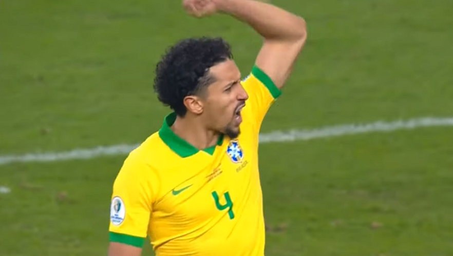 Le brassard et une bonne performance avec le Brésil pour Marquinhos