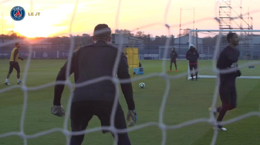 Les images du PSG ce mercredi : entraînement, buts et Neymar «heureux»