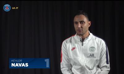 """Navas """"Ma performance contre le Real Madrid ? J'ai pu aider lors de ce match et j'en suis très content."""""""