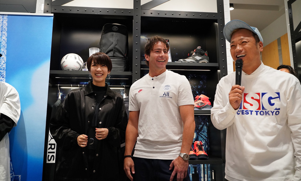 Le PSG inaugure une nouvelle boutique et un café à Tokyo