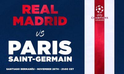 Les images du PSG ce dimanche: Repos et tête au Real Madrid