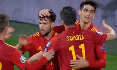 Sarabia a marqué son premier but en sélection et Bernat est passeur décisif lors de la large victoire de l'Espagne contre Malte