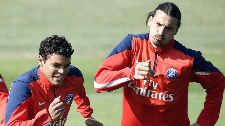Thiago Silva raconte le coup de pression de Zlatan Ibrahimovic au moment de signer au PSG