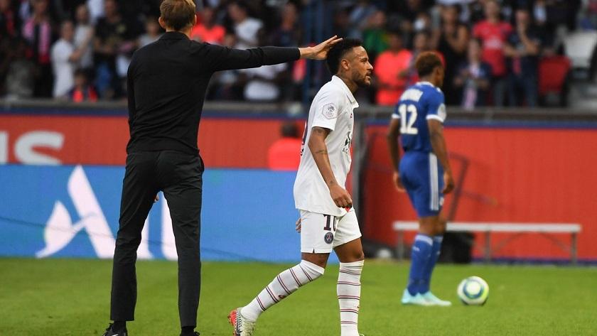 """Le Parisien fait le point sur la relation """"moins fusionnelle"""" entre Neymar et Tuchel"""