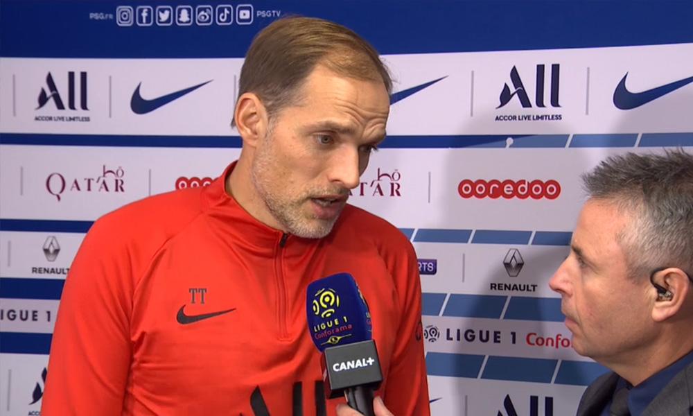 """PSG/Lille - Tuchel """"Il faut continuer, en s'améliorant. Je n'aime pas que les joueurs s'économisent"""""""