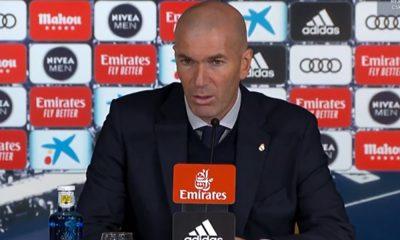 """Real/PSG - Zidane noie le poisson: """"Il n'y aura pas d'esprit de revanche mardi"""""""
