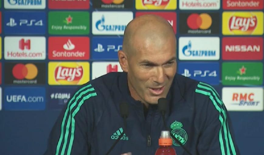 Real Madrid/PSG - Zidane «Les joueurs qui vont revenir dans l'équipe du PSG, pour moi, c'est une bonne nouvelle»