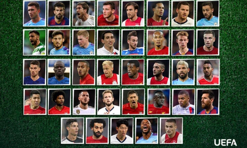 Mbappé et Di Maria nominés dans le onze type UEFA.com