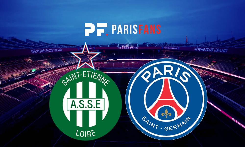 Saint-Etienne/PSG - Les équipes officielles : Paredes avec Marquinhos au milieu