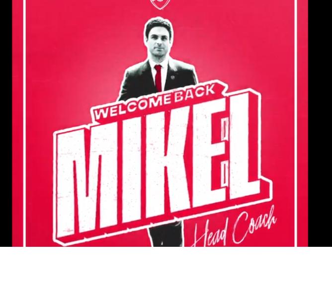 Anciens - Mikel Arteta est le nouvel entraîneur d'Arsenal, c'est officiel