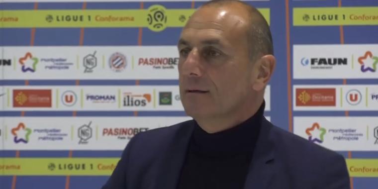 """Montpellier/PSG - Der Zakarian """"C'est dommage car les joueurs se sont bien arrachés, mais on doit être plus efficaces"""""""