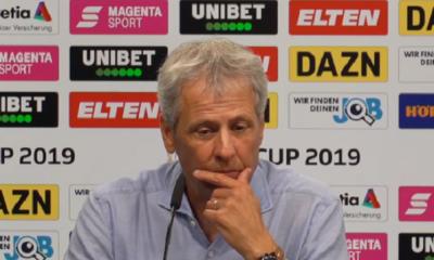 """Lucien Favre, coach du Borussia Dortmund, se dit """"heureux"""" d'affronter le PSG même s'il préférait Valence"""