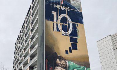 Une nouvelle fresque en honneur à Mbappé à Bondy