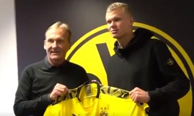 Officiel - Håland a signé au Borussia Dortmund et jouera donc contre le PSG