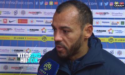 """Montpellier/PSG - Hilton """"Le carton rouge nous a fait mal"""""""