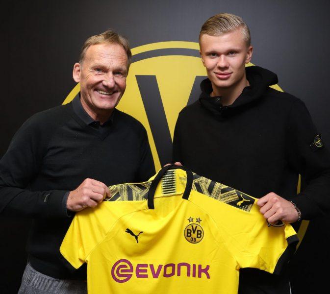 Le Borussia Dortmund s'offre Erling Braut Håland — Officiel