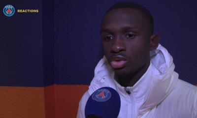 """Montpellier/PSG - Kouassi """"J'espère continuer ainsi...Mes coéquipiers m'ont beaucoup aidé"""""""