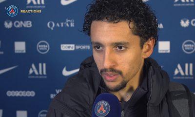 PSG/Amiens - Marquinhos satisfait de la performance du PSG veut revenir avec la même intensité dans le jeu