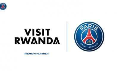 Le PSG et Visit Rwanda partenaires pour 3 années !