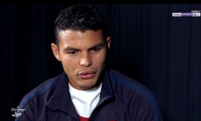 """Thiago Silva """"Je sens que je peux encore aider cette équipe, mais on verra ce qui se passe dans le futur."""""""