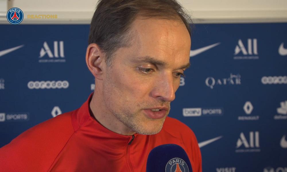 """PSG/Amiens - Tuchel se réjouit de la victoire """"on a attaqué ensemble, on a défendu ensemble"""""""