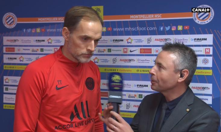 """Montpellier/PSG - Tuchel a vu """"une belle victoire méritée"""" face à """"beaucoup d'agressivité"""""""