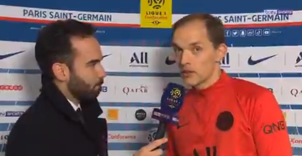 """PSG/Amiens - Tuchel est heureux de la performance """"on a joué ensemble"""", mais est """"triste"""" pour les blessures"""