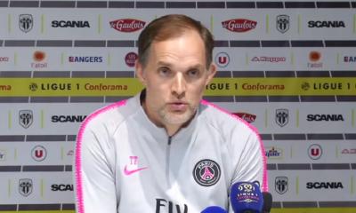 """Tuchel est """"content"""" du quart de finale de Coupe de la Ligue contre Saint-Etienne au Parc des Princes"""