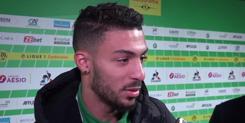 Même si Marquinhos l'a impressionné l'an passé, Denis Bouanga veut montrer qu'il a progressé lors de Saint-Etienne/PSG