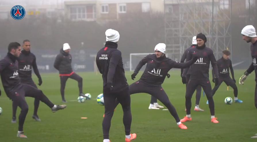 Montpellier/PSG - Suivez le début de l'entraînement des Parisiens ce vendredi à 16h