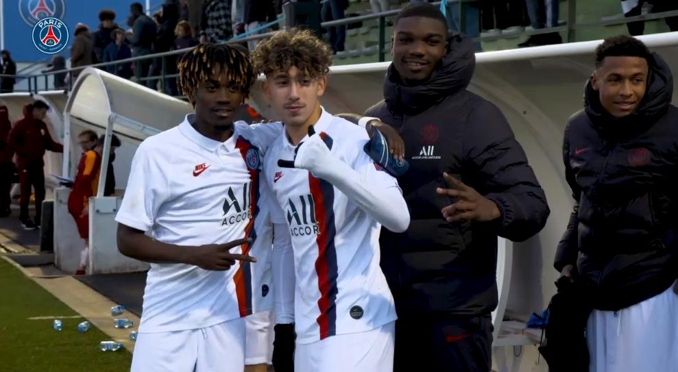 Les images du PSG ce lundi : famille, travail physique et immersion avec les U19