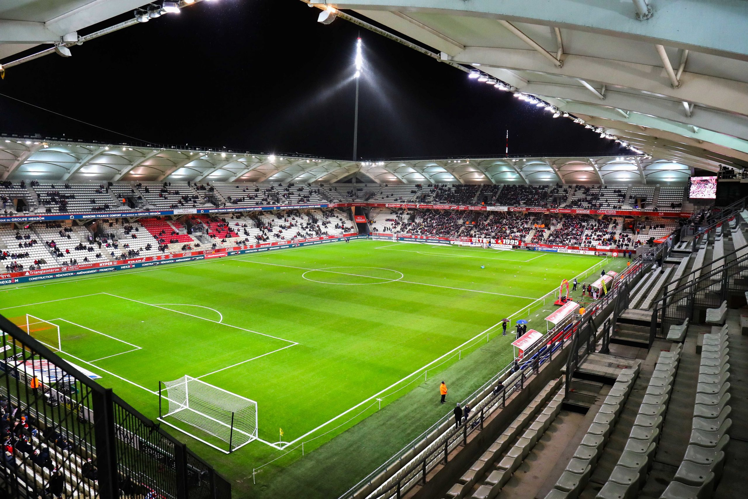 Reims/PSG - Un travail effectué pour que le terrain soit le moins imparfait possible