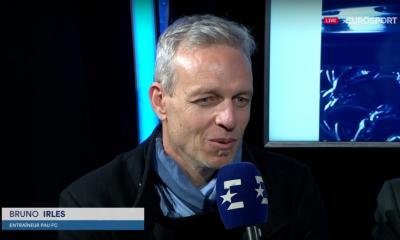 """Pau/PSG - Irles assure qu'il a """"aucun"""" regret et souligne l'état d'esprit des Parisiens"""