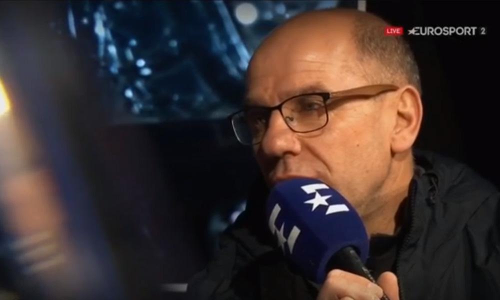 Malgré la défaite, Stéphane Cabrelli a apprécié l'attitude de ses joueurs face au PSG