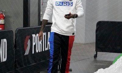 Une star de la NBA s'affiche avec de l'équipement de la collection PSG X Jordan à venir
