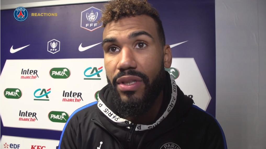 Pau/PSG - Choupo-Moting est très satisfait «il ne fallait pas prendre ce match à la légère»