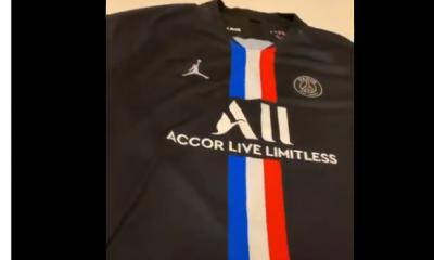 DJ Snake affiche le 4e maillot du PSG pour la saison 2019-2020 sur les réseaux sociaux