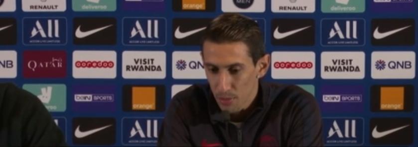 Di Maria évoque sa situation au PSG, qu'il veut comme «dernier club en Europe», ainsi que Navas, Cavani et Tuchel