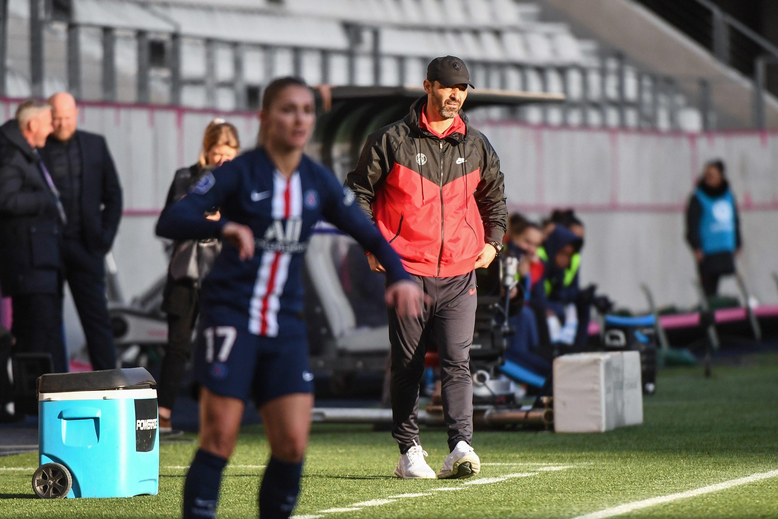 """Echouafni regrette un """"manque d'efficacité"""" face à Metz même si le PSG a fait """"le match qu'il fallait"""""""
