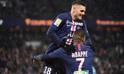"""Baup souligne la """"complémentarité"""" de Mbappé et Icardi, mais aussi les progrès qu'ils ont à faire défensivement"""